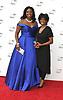 Angel Blue and Sylvia Blue attend the Metropolitan Opera Season Opening Night 2018 on September 24, 2018 at The Metropolitan Opera House, Lincoln Center in New York, New York, USA.