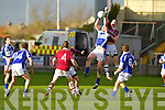Thomas Curran Dromid Pearses v Ronan O'Neill Derrytresk in the AIB All Ireland Junior Club Championship Semi Final at Portlaoise on Sunday