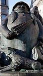 Granma sculpture, Giles Corner, Ipswich, Suffolk, England