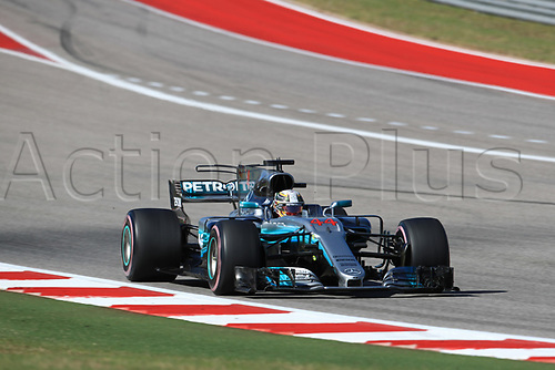 22nd October 2017, Circuit of the Americas, Austin, USA; American Formula One Grand Prix, Race Day; Lewis Hamilton - Mercedes AMG Petronas F1 team