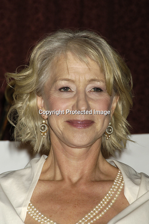 Helen Mirren ..in The Press Room  of the 33rd  International Emmy Awards Gala on November 21, 2005 at the New York Hilton. ..Photo by Robin Platzer, Twin Images