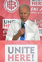 UNITE HERE's Culinary Union Town Hall With Joe Biden