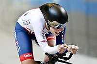 Picture by SWpix.com - 03/03/2018 - Cycling - 2018 UCI Track Cycling World Championships, Day 4 - Omnisport, Apeldoorn, Netherlands - Women's Individual Pursuit - Ellie Dickinson of Great Britain a