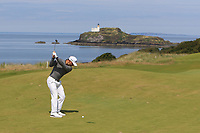 Haydn Porteous (RSA) on the 4th fairway during Round 1 of the Aberdeen Standard Investments Scottish Open 2019 at The Renaissance Club, North Berwick, Scotland on Thursday 11th July 2019.<br /> Picture:  Thos Caffrey / Golffile<br /> <br /> All photos usage must carry mandatory copyright credit (© Golffile | Thos Caffrey)