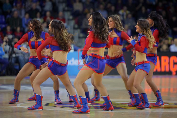 League ACB-ENDESA 2016/2017. Game: 11.<br /> FC Barcelona Lassa vs Herbalife Gran Canaria: 79-78.<br /> Dream Cheers.