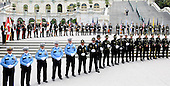 Police officers from across the country attend the 32nd Annual National Peace Officers' Memorial Service at the West Front Lawn of the U.S. Capitol May 15, 2013 in Washington, DC. Obama attended the annual event to honor law enforcement who were killed in the line of duty in the previous year..Credit: Olivier Douliery / Pool via CNP