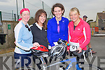 GOODFORM: In great form and gready for the Banna Triathlon on Saturday in Banna L-r: Deirdre McArdle(limk), Jessica McCarthy,Natlee O'Connor(Tralee) and Michelle Walsh (Currow)..