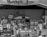 Second annual Mountain Aire Renaissance Fair and Musical festival produced by Rock'n Chair Productions.  On stage is Peter Frampton on June 15, 1975 at the Calaveras County Fairground near Angle Camp California.  Photo by Al Golub