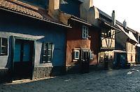 Tschechien, Prag, Goldenes Gaesschen (Zlata Ulicka), Unesco-Weltkulturerbe