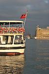 Istanbul, Turkey, Kadıköy, Hydarpasa Train Station, Asian, Anatolian shore, passenger ferries, Bosphorus, Bosporos Strait,