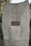 Sensory garden, Colchester, Essex, England