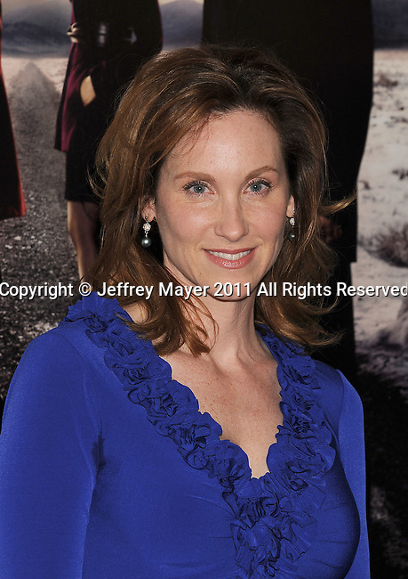 "LOS ANGELES, CA - January 12: Judith Hoag attends HBO's ""Big Love"" Season 5 party at the Directors Guild Of America on January 12, 2011 in Los Angeles, California."