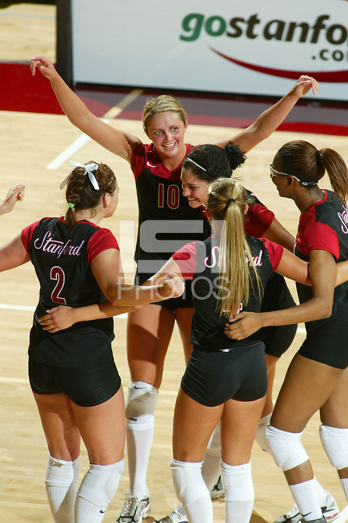 15 September 2005: Kristin Richards during Stanford's 3-0 win over Saint Mary's in Maples Pavilion in Stanford, CA.