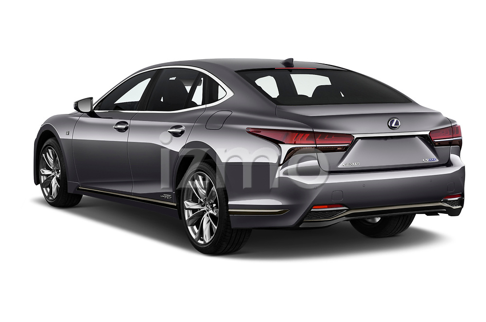 2018 Lexus LS F Sport 4 Door Sedan angular rear