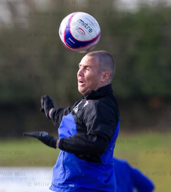 Kenny Miller at training