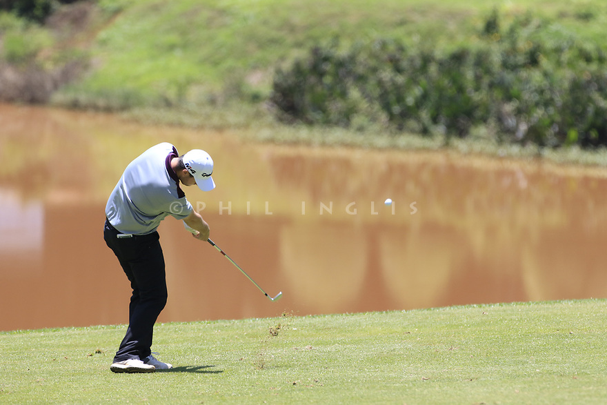 Max Schmitt (GER) during the third round of the Barclays Kenya Open played at Muthaiga Golf Club, Nairobi, Kenya 22nd - 25th March 2018 (Picture Credit / Phil Inglis) 22/03/2018<br /> <br /> <br /> All photo usage must carry mandatory copyright credit (&copy; Golffile | Phil Inglis)