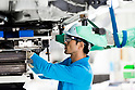 Toyota car manufacturing