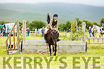 Eugenie Sheehy from Lixnaw clearing the fences at the Blennerville Pony & Agricultural Show on Sunday.