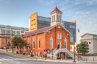 The Dexter Avenue King Memorial Baptist Church in Montgomery, Alabama.
