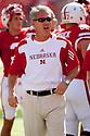 October 16, 2010: Nebraska Offensive Coordinator and Quarterback Coach Shawn Watson before the Texas game at Memorial Stadium in Lincoln, Nebraska. Texas defeated Nebraska 20 to 13.