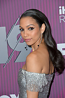 LOS ANGELES, CA. March 14, 2019: Corinne Foxx at the 2019 iHeartRadio Music Awards at the Microsoft Theatre.<br /> Picture: Paul Smith/Featureflash