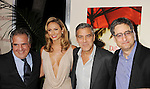 "LOS ANGELES, CA - NOVEMBER 15: Jim Gianopulos, Stacy Keibler, George Clooney and Tom Rothman attends ""The Descendants"" Los Angeles Premiere at AMPAS Samuel Goldwyn Theater on November 15, 2011 in Beverly Hills, California."