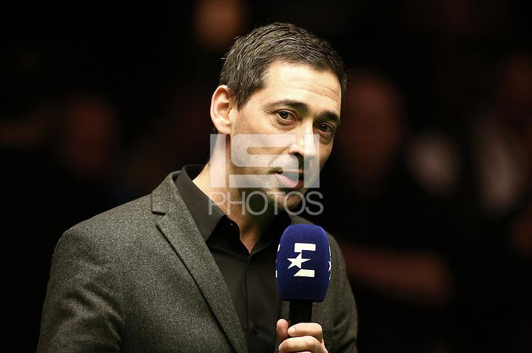 Colin Murray / Presenter<br /> Finale / Sport / Snooker Billard / Berlin German Masters / 04.02.2018 *** Local Caption *** &copy; pixathlon