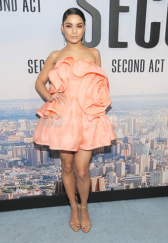 """NEW YORK, NY - DECEMBER 12: Vanessa Hudgens attends the World Premiere for """"Second Act"""" at Regal union Square on December 12, 2018 in New York City.  Credit: John Palmer/MediaPunch"""