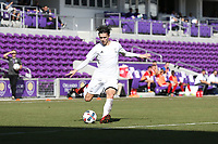 Orlando, Florida - Wednesday January 17, 2018: Paul Marie. Match Day 3 of the 2018 adidas MLS Player Combine was held Orlando City Stadium.