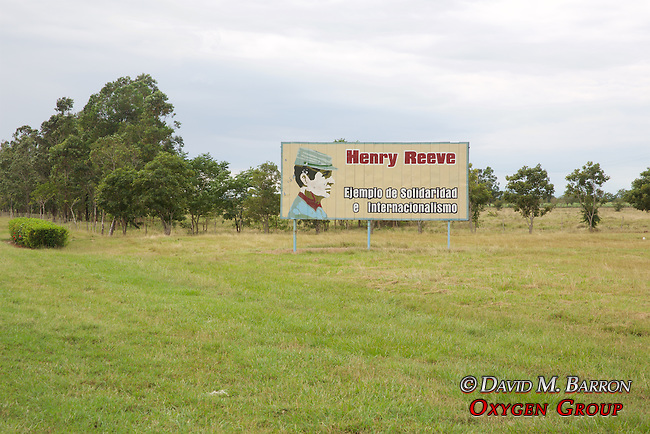 "Henry Earl Reeves Billboard, El Inglesito"" ""The Little Englishman"", an American Who Fought for the Cuban Army Against Spain"