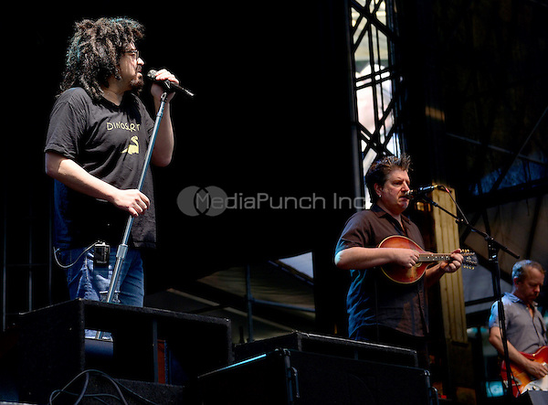 MIAMI GARDENS, FL - FEBRUARY 11: Adam Duritz, David Immerglück and David Bryson of Counting Crows preforms during the Dolphins Cancer Challenge VII (DCC) Concert Celebration at Hard Rock Stadium on February 11, 2017 in Miami Gardens, Florida.  Credit: MPI10 / MediaPunch