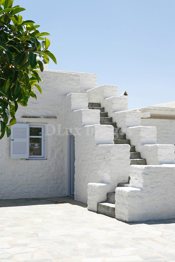 traditional stone staircase