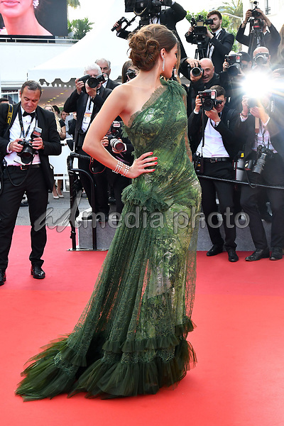 """24 May 2017 - Cannes, France - Iris Mittenaere. """"The Beguiled"""" Premiere during the 70th Cannes Film Festival. Photo Credit: MichaelTimm/face to face/AdMedia"""