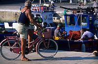 Europe/Italie/La Pouille/ Salvelletri di Fasano: Sur le port de pêche