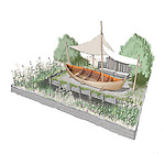 The IBTC Lowestoft Broadland Boatbuilder's Garden by Gary Breeze