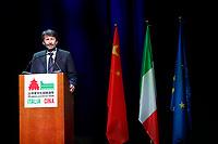 Italian Minister of Culture and Tourism Dario Franceschini<br /> Rome January 21st 2020. Inauguration of the Italy-China year of culture and tourism.<br /> Foto Samantha Zucchi Insidefoto