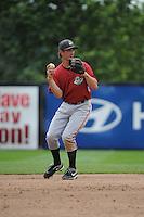 Altoona Curve infielder Jarek Cunningham (24) during game against the Trenton Thunder at ARM & HAMMER Park on July 24, 2013 in Trenton, NJ.  Altoona defeated Trenton 4-2.  Tomasso DeRosa/Four Seam Images