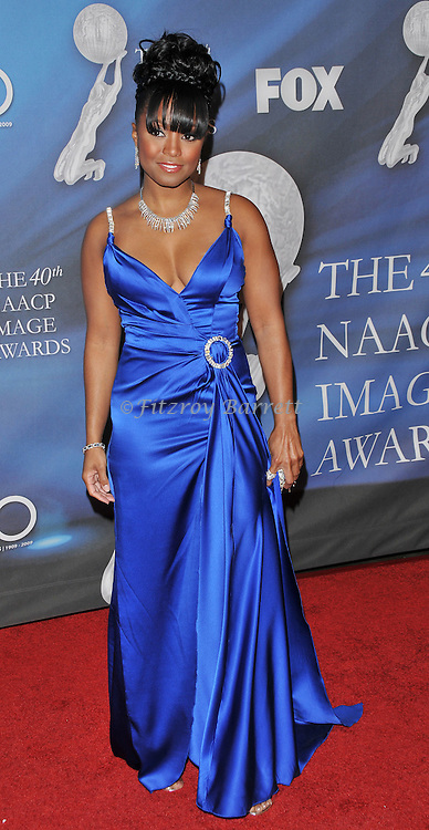 Keshia Knight Pulliam arriving at the 40th NAACP Image Awards held at the Shrine Auditorium Los Angeles, Ca. February 12, 2009. Fitzroy Barrett
