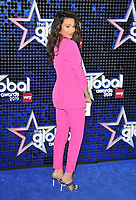 Michelle Keegan<br /> The Global Awards 2019, Hammersmith Apollo (Eventim Apollo), Queen Caroline Street, London, England, UK, on Thursday 07th March 2019.<br /> CAP/CAN<br /> &copy;CAN/Capital Pictures
