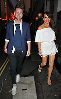 guest &amp; Elizabeth &quot;Lizzie&quot; Cundy at the Diva Magazine relaunch party, The Club at The Ivy, West Street, London, England, UK, on Thursday 11 August 2016.<br /> CAP/CAN<br /> &copy;CAN/Capital Pictures / MediaPunch   *** USA and South America ONLY**