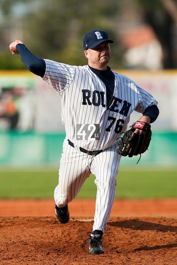 Baseball - European Cup 2009 - Anzio (Italy) - 04/04/2009 - Danesi Caffe' Nettuno v Rouen Baseball '76 - Robin Roy