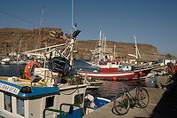 Fishing boats, Puerto Mogan, Gran Canaria, Canary Islands, Spain