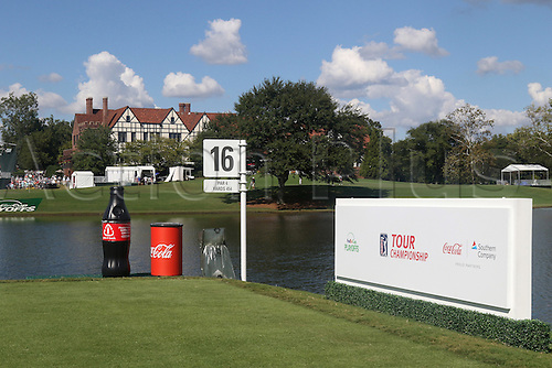 23.09.2016. Atlanta, Georgia, USA.  A scenic view of the clubhouse during the second round of the 2016 PGA Tour Championship at East Lake Golf Club in Atlanta, Georgia.
