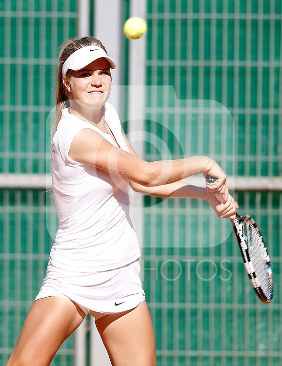 Czech Republic's Monika Kilnarova during Junior Fed Cup 2015 Semifinal match. October 2, 2015.(ALTERPHOTOS/Acero)
