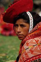 Wolloq, Urubamba Valley, Peru - Quechua Woman