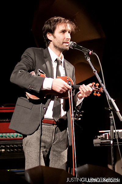 "Live concert photos of Andrew Bird's ""Gezelligheid"" @ Fourth Presbyterian Church Chicago by http://www.justingillphoto.com"