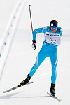 Thomas Clarion (FRA), <br /> MARCH 12, 2018 - Cross-Country Skiing : <br /> Men's free 20 km Standing  <br /> at Alpensia Biathlon Centre   <br /> during the PyeongChang 2018 Paralympics Winter Games in Pyeongchang, South Korea. <br /> (Photo by Yusuke Nakanishi/AFLO)