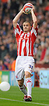 Carl Dickinson of Stoke City during the Championship League match at The Britannia Stadium, Stoke. Picture date 4th May 2008. Picture credit should read: Simon Bellis/Sportimage