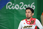 Takahisa Yamaguchi (JPN), <br /> SEPTEMBER 18, 2016 - WheelChair Rugby : <br /> 3rd place match Japan - Canada  <br /> at Carioca Arena 1<br /> during the Rio 2016 Paralympic Games in Rio de Janeiro, Brazil.<br /> (Photo by AFLO SPORT)