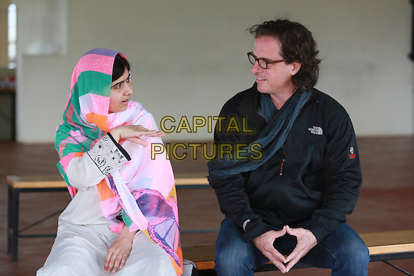 He Named Me Malala (2015) <br /> Malala Yousafzai &amp; Davis Guggenheim (Director) <br /> *Filmstill - Editorial Use Only*<br /> CAP/KFS<br /> Image supplied by Capital Pictures